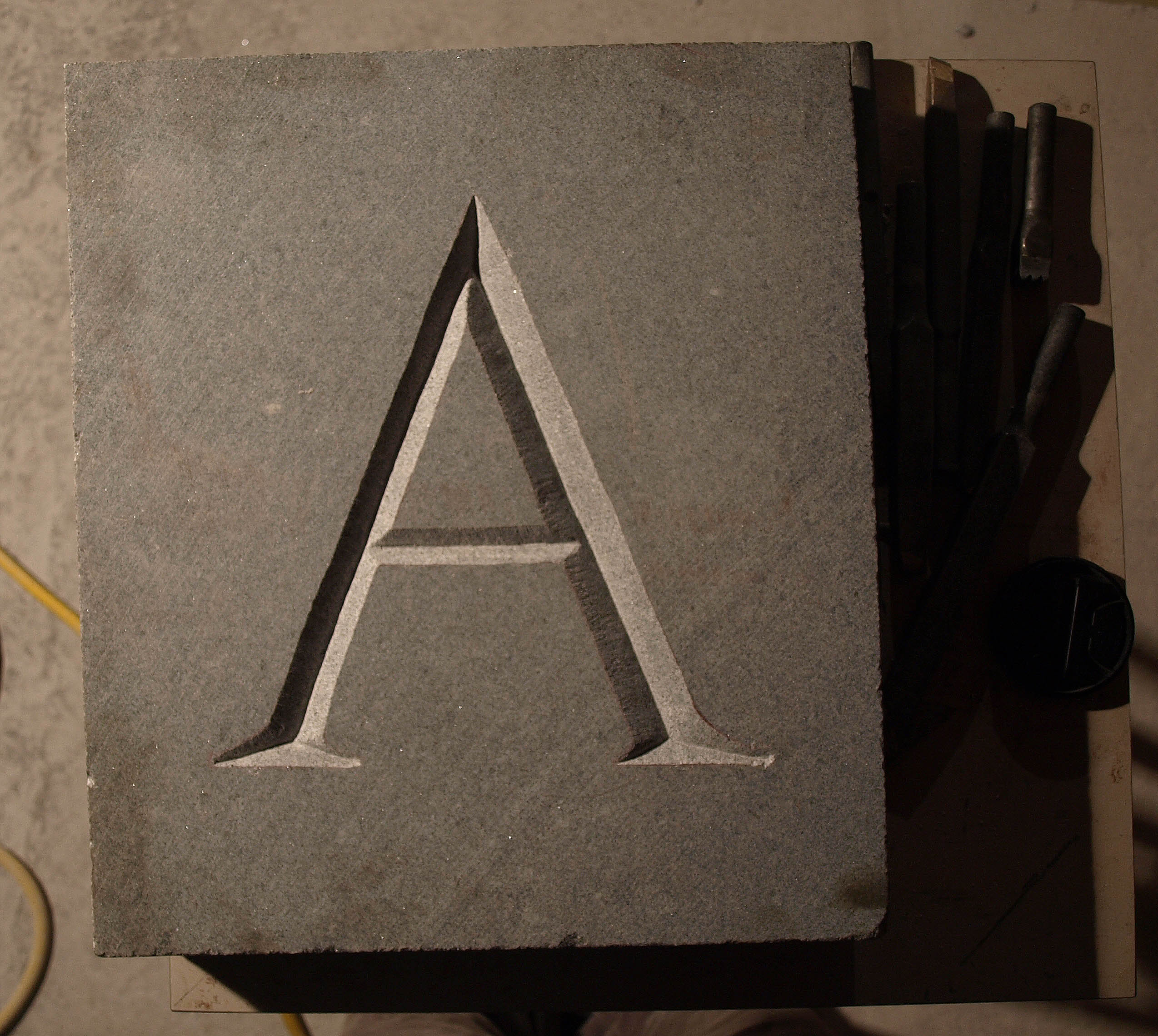 carving letters in stone sean hunter williams With stone letter carving